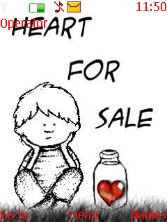 Heart For Sale Theme Mobile Theme