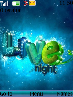 Love Night Theme Mobile Theme