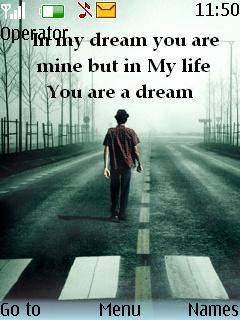 You Are A Dream Theme Mobile Theme
