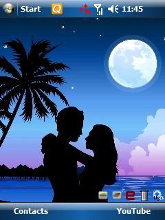 Romantic Theme Mobile Theme
