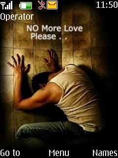 No More Love Plz Theme Mobile Theme