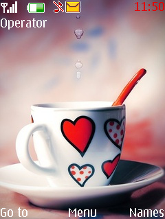 Love Cup Theme Mobile Theme