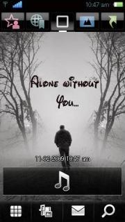Alone Nokia Theme Mobile Theme