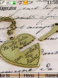 Love Key Mobile Theme