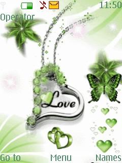 Love Heart Mobile Theme