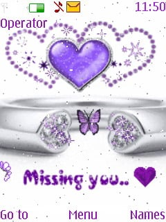 Missing You Mobile Theme