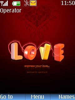 Love Mobile Theme