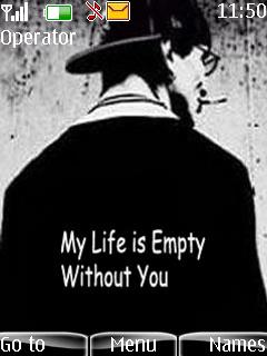 Download My Life Is Empty Nokia Theme Mobile Toones