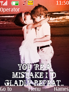 You Are A Mistake Mobile Theme