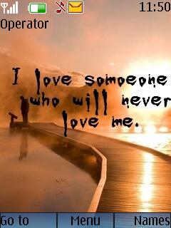 Love Someone Mobile Theme