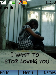 Stop Loving You Mobile Theme