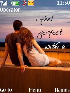 Perfect Love Mobile Theme