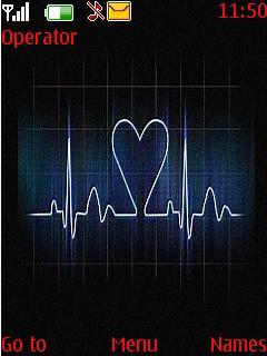 Love Meter Mobile Theme