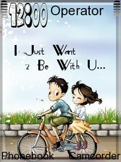 Be With U Mobile Theme