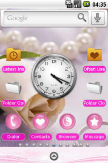 Love Rings For PandaHome Android Theme Mobile Theme