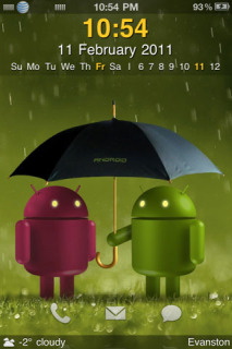 Android Lover Mobile Theme