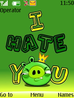 Hate You Mobile Theme