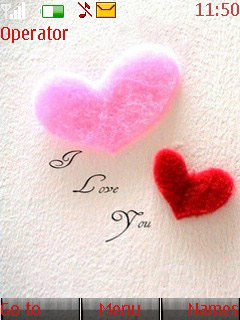 Sweet Heart Mobile Theme
