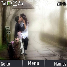 Love Couple Mobile Theme