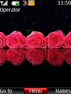 Nice Roses Mobile Theme