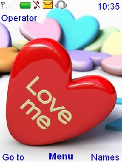 Love Me Mobile Theme