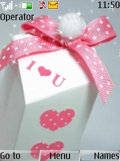 I Love You Gift Mobile Theme