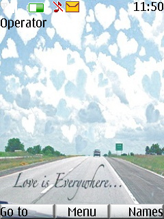 Love Is Everywhere Mobile Theme
