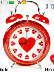 Love O' Clock Mobile Theme