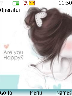 Are You Happy Mobile Theme