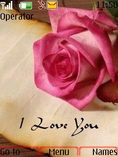 Love Rose Mobile Theme