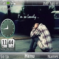 Lonely Mobile Theme