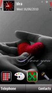 Love Forever Mobile Theme