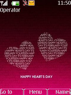 Hearts Mobile Theme