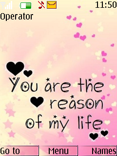 Reason Of Life Mobile Theme