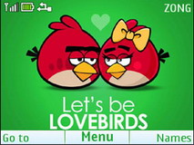 Love Birds S40 Theme Mobile Theme
