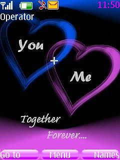 Together Forever Mobile Theme