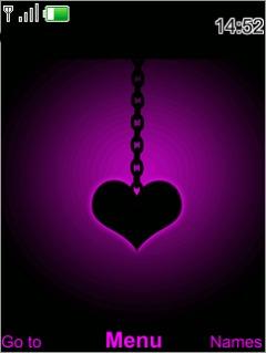 Black Heart Mobile Theme