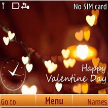 Happy Valentines Day C3 Nokia Theme Mobile Theme