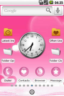 Mothers Day Pink Love Android Theme Mobile Theme