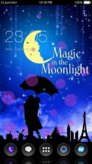 Magic Moon Light Android Theme Mobile Theme