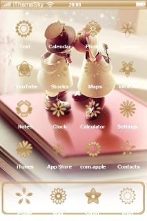 Kiss Love IPhone Theme Mobile Theme