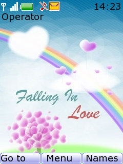 Falling In Love Mobile Theme