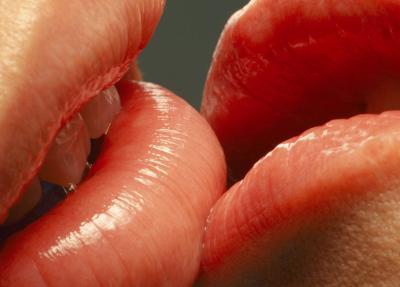 Red Lip Kiss Mobile Theme