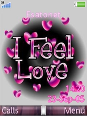 Feel Love Mobile Theme