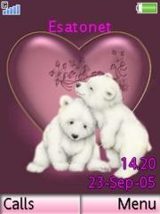 Teddy Bear Love Mobile Theme