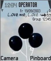 Love Me Mobile Theme