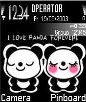 Panda Mobile Theme