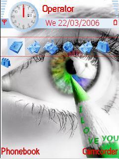 Love You Mobile Theme