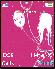 Balloon Girl Theme Mobile Theme