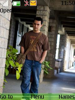 Aamir Khan Mobile Theme